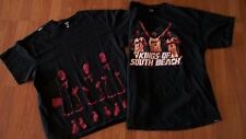 LOT of 2 NBA Miami Heat Lebron Bosh Wade 2XL T-Shirt basketball mens