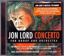Jon LORD Concerto For Group And Orchestra Darin Vasilev Steve Morse Deep Purple