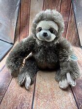 Bearington Speedy Plush Three Toed Sloth Stuffed Animal, 12 Inches