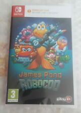 JAMES POND Codename Robocod Nintendo Switch - Boxed Download Game PAL NEW SEALED
