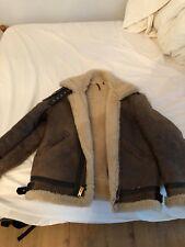 Schott NYC Sheepskin leather bomber jacket Classic WWII