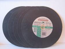 MASONRY CUTTING DISC. POWERBUILT.  5 x 355MM  x 3.8mm x 2mmmDISCS