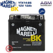 Magneti Marelli MAYTX14BS 12Ah Batteria con Accido a Corredo - Nera