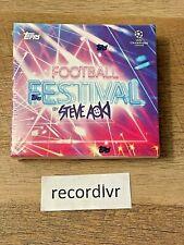 New listing 2021 Topps UEFA Champions League Football Festival by Steve Aoki SEALED Box NEW