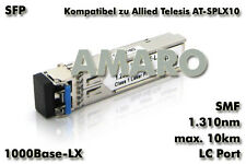 Allied Telesis AT-SPLX10 komp SFP 1G LX LC 10km 1310nm SMF Transceiver