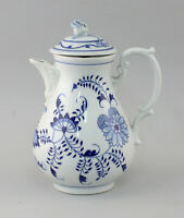 99840658 Porcelain Coffee Jug Onion Pattern 19.Jh.Thüringen