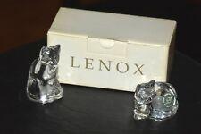 Lenox Crystal Cat Salt & Pepper Set - reduced from $ 20
