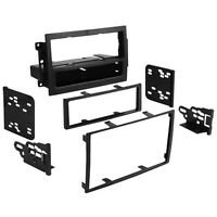 CT24CH06 Chrysler Dodge Jeep Car Stereo Single / Double Din Fascia Panel Adaptor