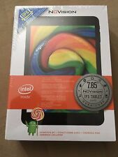 """7.85"""" NuVision Tablet - 16GB w/ Intel Quad Core 1.83 GHz ATOM Android New Sealed"""