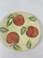 """Culinary Arts Studio Collection 8 5/8""""  Fruit Plate Apples Cottage Country"""