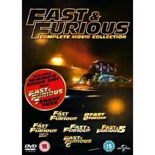 Fast & Furious 1 to 6 Movie Collection Region 2 DVD