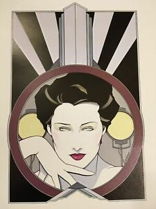 Patrick Nagel,,Poster prints Set Of 4 ,ITT Canon Deco Suite 1979 New In Package