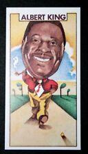 Albert King  Blues Legend  Original 1970's  Illustrated Card   EXC