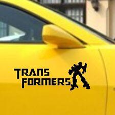 Car Deception Autobot Transformers Vinyl Side sticker Door Decal #TF38