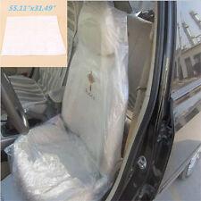 Jetable Housses de Siège de Voiture en Plastique Pour Sièges Anti-poussière 100×
