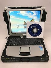 Panasonic Toughbook CF-19 Touchscreen MK4 i5 Win 10 Pro 4GB 160GB W/ OEM CD