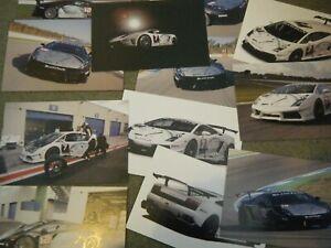 2009 BLANCPAIN LAMBORGHINI GALLARDO RACING SET 13 POSTCARDS CARTE POSTAL RARE