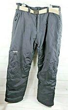 SKIGEAR Men's Size M Black Snow Ski Snowboard Insulated Pants