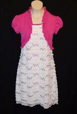 Sz 8 Speechless Girls Pink Jacket Dress Wedding Church Easter Thanksgiving Bride