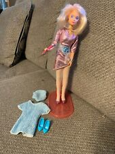 Vintage Jem And The Holograms Jerica With Stand, Original Outfit Extra Outfit