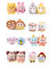 Disney Store MINI UFUFY Plush Soft Toy Cute Collectable Gift Tsum Tsum Limited