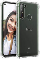 HTC U20 Desire 20 Plus 21 Pro 19s U12 U11 Shockproof Crystal Soft TPU Case Cover