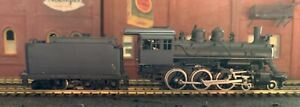 Arkansas Louisiana & Mississippi Railroad 4-6-0  Baldwin - Brass HO