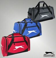 Mens Slazenger Gym Fitness Pockets Medium Holdall Size L54cm x W26cm x D26cm