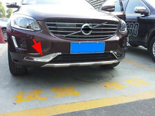 Chrome Front Grille Molding Cover Trim for 2014-2016 Volvo XC60 ABS Grilles 4pcs