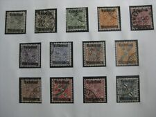 WURTTEMBERG GERMAN STATES Mi. #258-270 used stamp set! CV $95.00