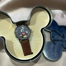 Disney Ingersoll Mickey Minnie Mouse Love Moving Hand Quartz Watch Vintage RARE