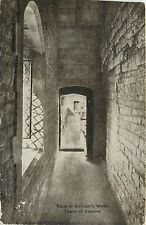 Tower of London The Bloody Tower Sir Walter Raleigh Walk England Postcard