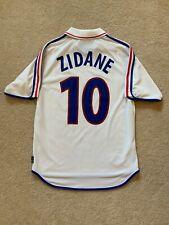 Adidas 2001-2002 France Away Jersey #10 Zidane Sz M *MINT*
