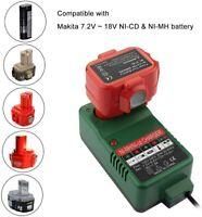 UK NI-CD NI-MH Battery Charger for Makita 7.2V 9.6V 12V 14.4V 18V 6010D 6261D