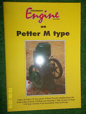 PETTER M TYPE STATIONARY ENGINE BOOK HISTORY SERVICE REBUILD GUIDE RESTOR MANUAL