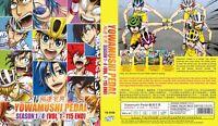 ANIME DVD Yowamushi Pedal Season 1-4(1-115End)Eng sub&All region + With GIFT