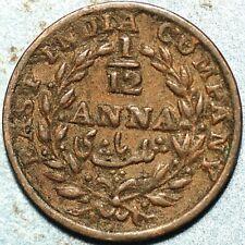 1/12 Anna 1835 India N478