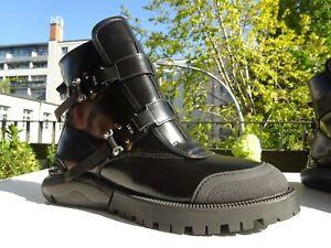 DIOR CHRISTIAN DIOR DC 1200 Damen Schuhe Stiefeletten Leder Italy Gr.39 Neuw