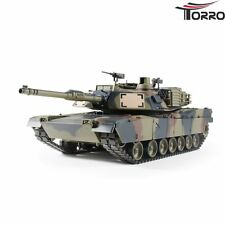 RC Panzer M1A2 Abrams Heng Long Torro-Edition 1:16 Metallgetriebe + Metallketten