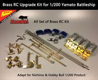 1/200 Yamato Battleship Brass RC Upgrade Kit