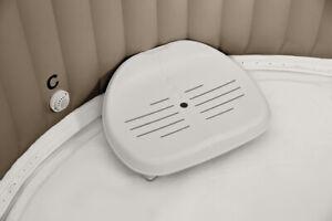Intex Pure Spa Sitz 28502 Whirlpool Kunststoffsitz Zubehör höhenverstellbar ,(K)