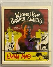 WELCOME HOME BROTHER CHARLES + EMMA MAE BLU RAY DVD 2 DISC SET VINEGAR SYNDROME