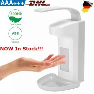 Eurospender Seifenspender 500ml Wandseifenspender Desinfektionsmittelspender DHL