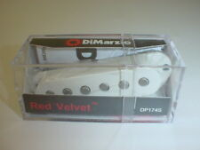 DIMARZIO DP174 Red Velvet MIDDLE Single Coil Electric Guitar Pickup - WHITE RWRP