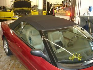 Chrysler Sebring Stratus PT Cruiser Crossfire Convertible Soft Top Repair Set