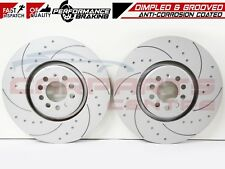 FOR VW GOLF MK4 R32 AUDI TT ROADSTER 3.2 FRONT DRILLED GROOVED BRAKE DISCS 334mm