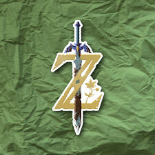 Legend of Zelda Breath of the Wild Sticker Nintendo Switch Logo LOZ BoTW Decal
