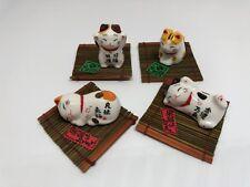 Maneki Neko Lucky Cute Cats kawaii cats  Wish come true Good friends cats JAPAN