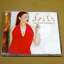 Faith Evans - Incomparable 2014 USA CD MINT Funk / Soul #F03
