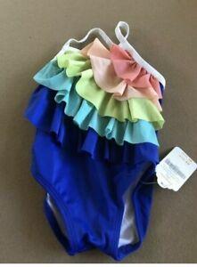 Gymboree Rainbow Ruffle Swimsuit